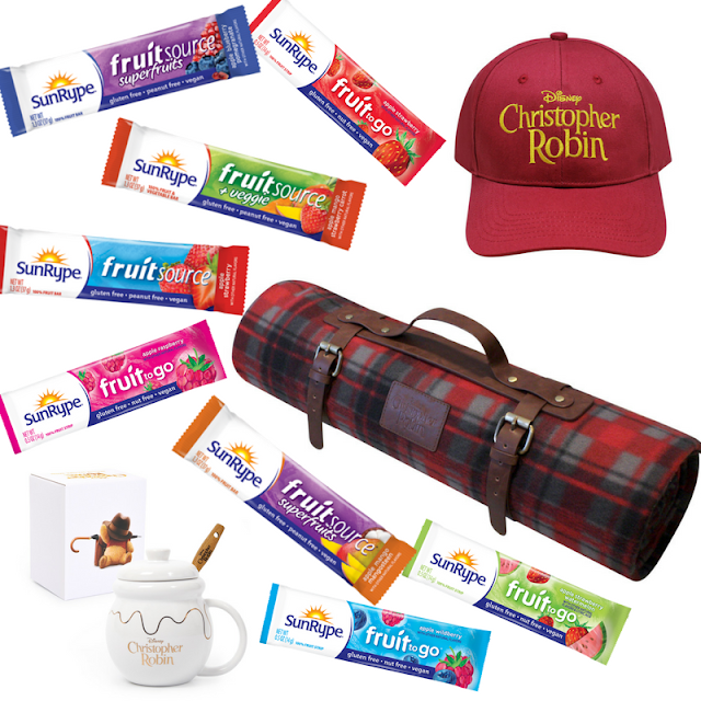 SunRype Family Sweepstakes & Disney's Christopher Robin Film