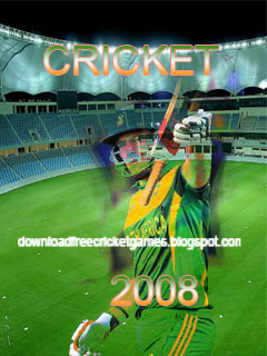 Cricket games 2008