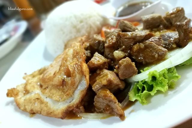 Khmer Food Cambodia Beef Lok Lak