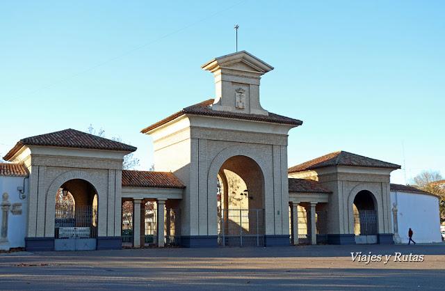Entrada al recinto de la feria de Albacete