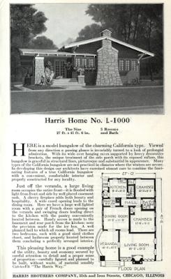 harris home model 1000