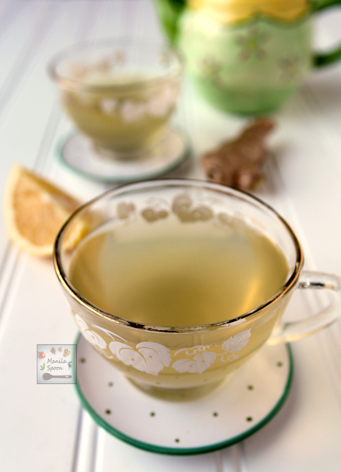 This is what I drink whenever I feel the onset of cold,cough, sore throat or flu. This fresh ginger tea with honey (salabat) helps boost your immune system. A delicious natural remedy that's also perfect for tea time.