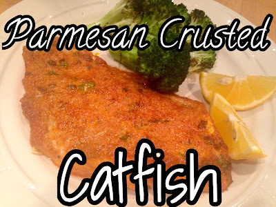 Oven Parmesan Crusted Fish