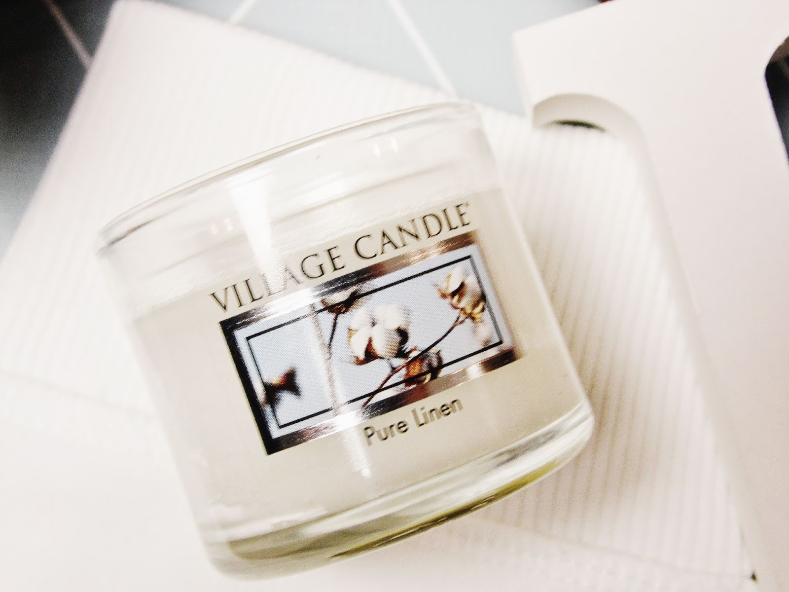 pure linen village candle recenzja