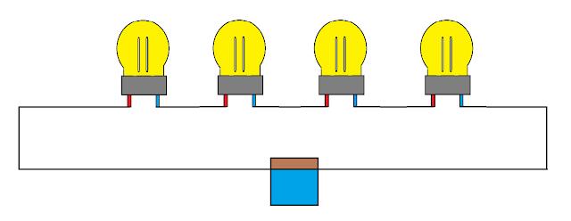 Merangkai Rangkaian listrik Seri dan Paralel Besarta Teori kerjanya