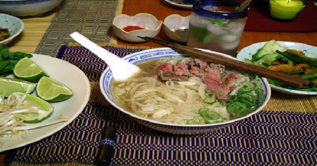 Beef Pho Noodle Soup Recipe