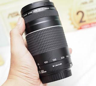 Jual Lensa Tele Canon 75-300mm iii Bekas