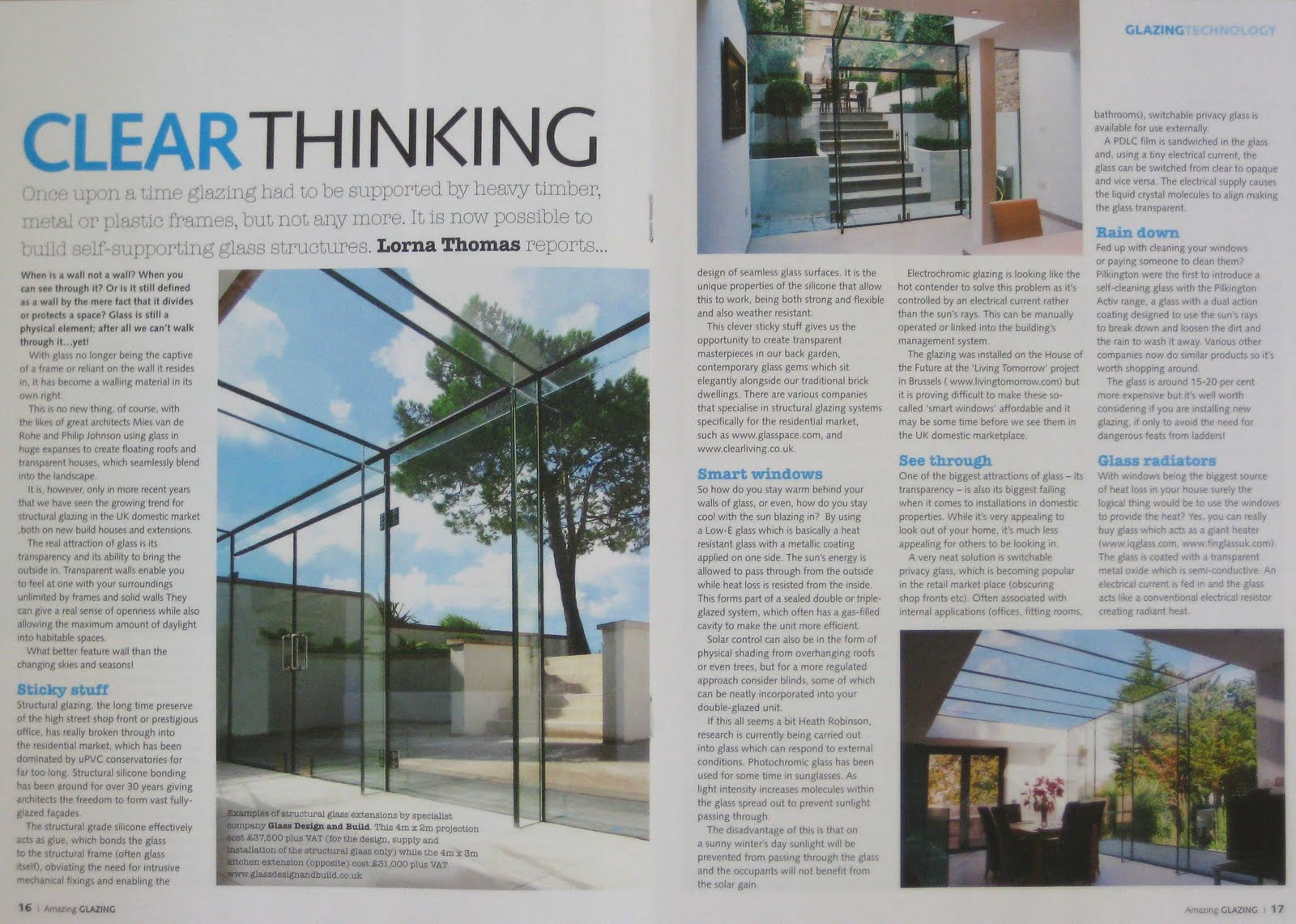 A for Architect: LATEST FEATURE ARTICLE as published in SELF BUILD
