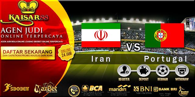 Prediksi Bola Jitu Iran vs Portugal 26 Juni 2018