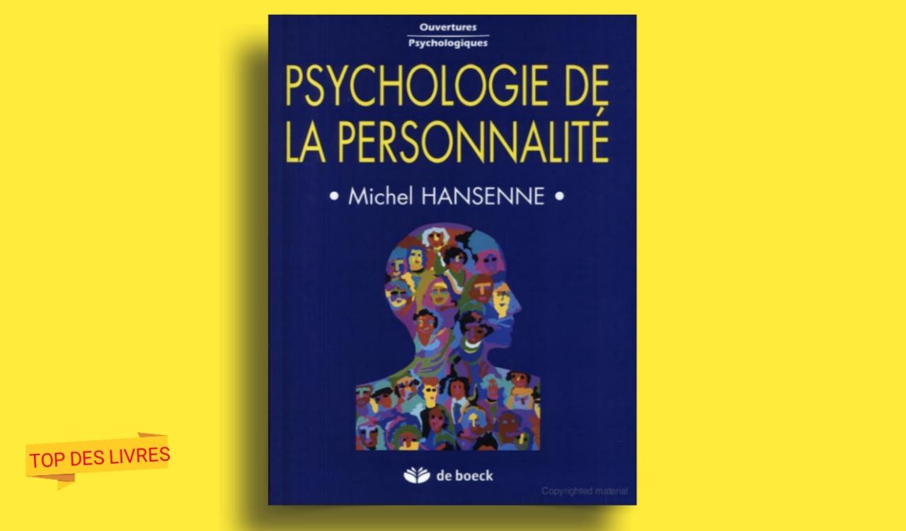 Télécharger : Psychologie de personnalité en pdf
