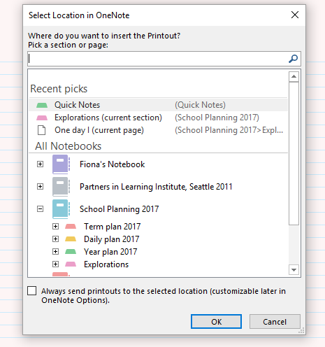 can you write on pdf in onenote
