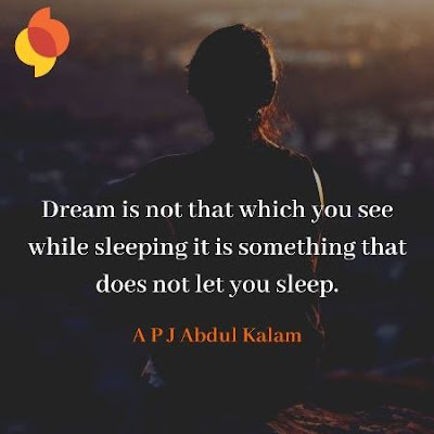 A P J Abdul Kalam Motivational Quote