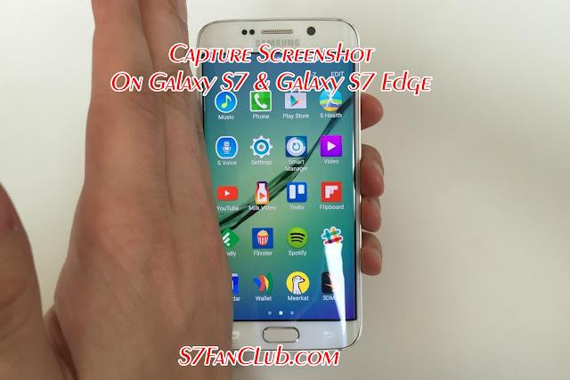 How To Take Screenshots on Samsung Galaxy S7 & Galaxy S7 Edge? »