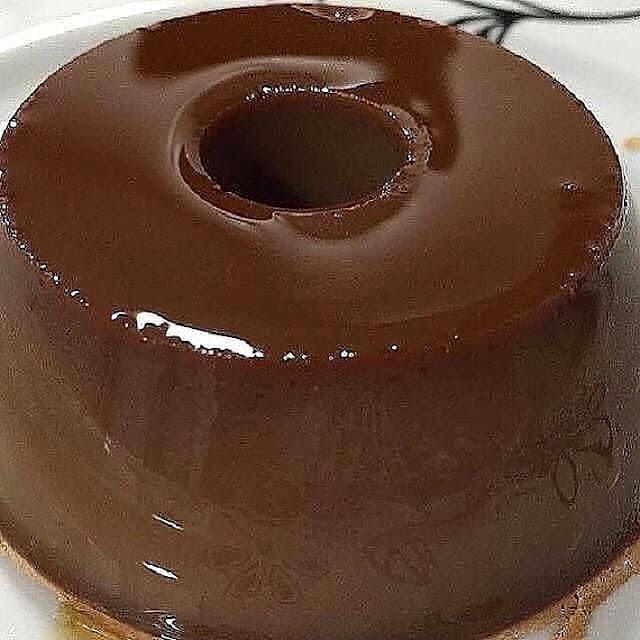 Foto ilustrativa pudim de Nutella