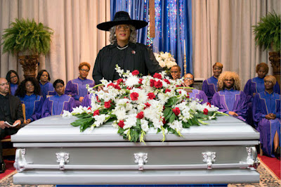 Tyler Perry's Madea delivers a eulogy movie still