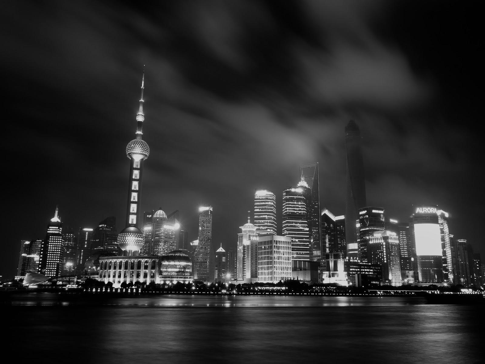 Shanghai Skyline shot with SonyRX100