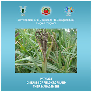 Diseases Of Field Crops And Their Management ICAR E course Free PDF Book Download e krishi shiksha