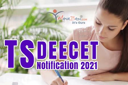 Online TS DEECET Appplication Form