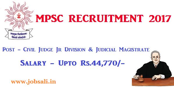 MPSC Vacancy, Government jobs in Maharashtra, Jobs in Mumbai