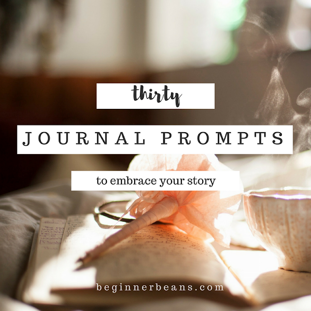 30 Questions + Journal Prompts to Identify, Embrace, and Share Your Story