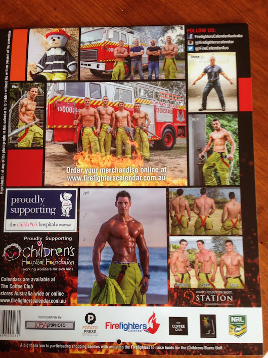 Scantily Clad Firefighter GIVEAWAY