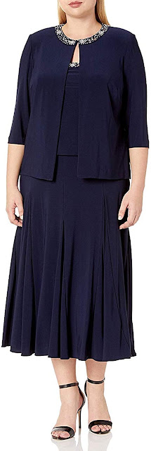 Beautiful Plus Size Mother of The Bride Dresses With Jackets