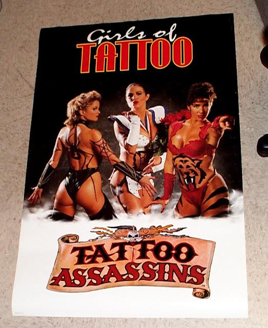 Tattoo Assassins+arcade+game+portable+retro+fight