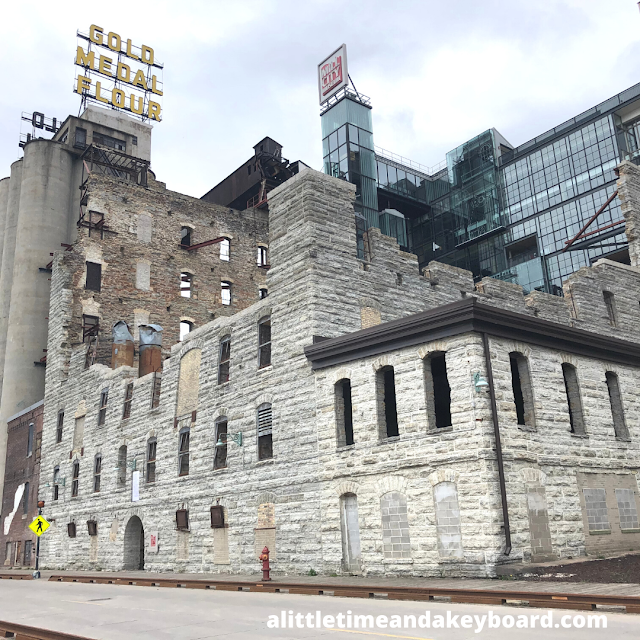 Flour Mill Ruins that can be explored at Mill City Museum.