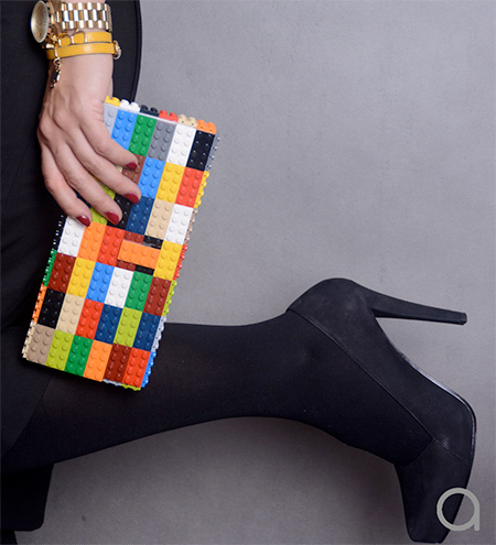 Stylish Lego Clutches | DESIGN FETISH