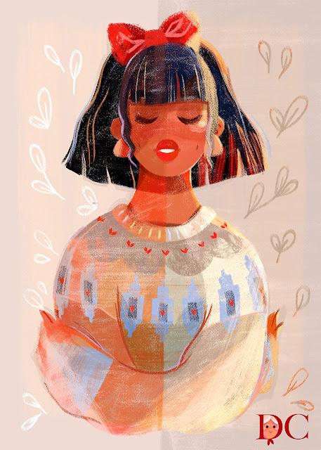 La Forêt_Dazhkaclaire_Claire O'Brien illustration Dazhka Claire