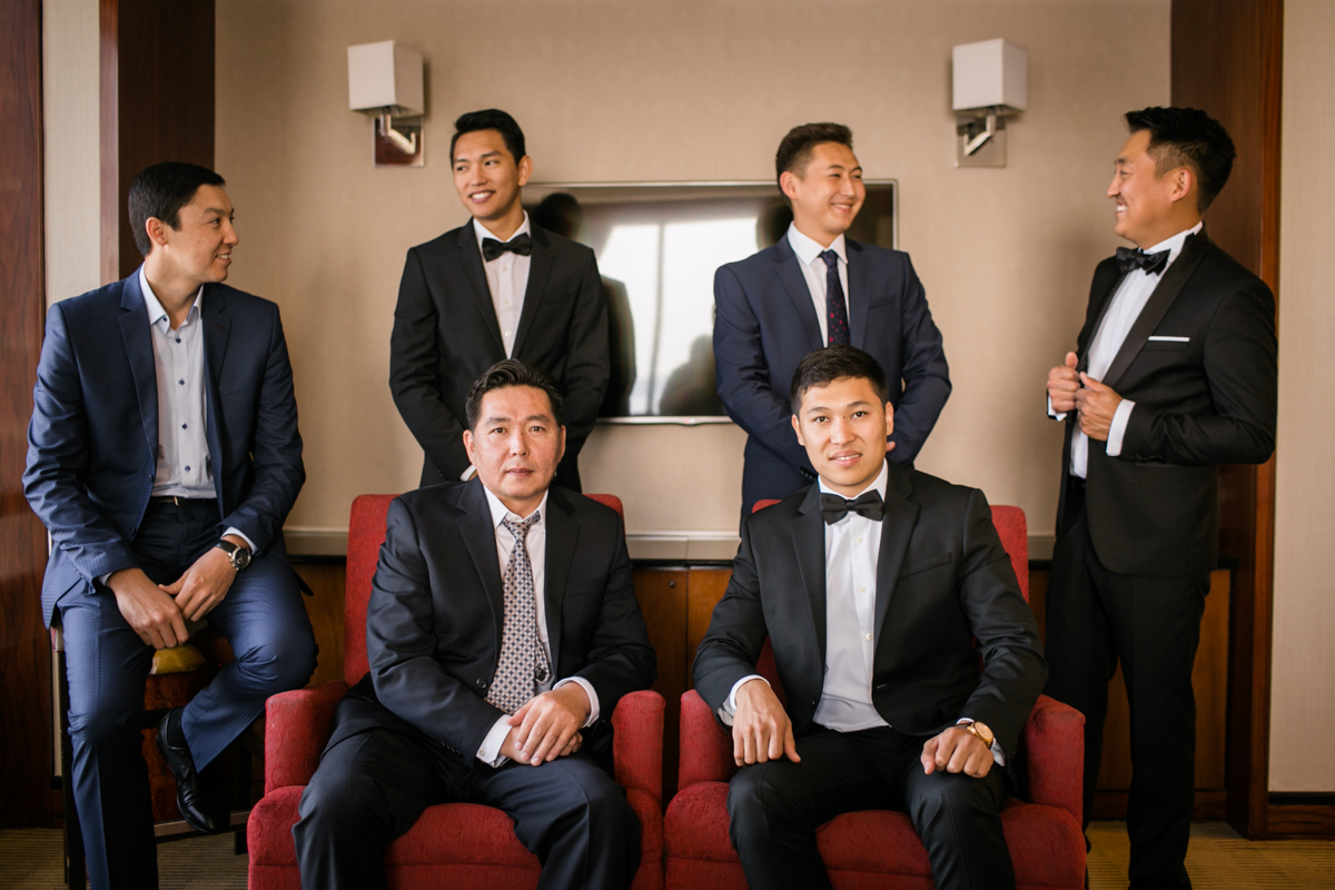 The Groom and His Crew Taken Some Cool Photo-shoots.