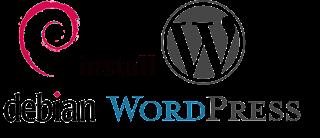 install wordpress di debian