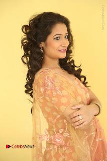 Telugu Actress Santoshi Sharma Latest Stills in Salwar Kameez at HBD Movie Teaser Launch  0013.JPG