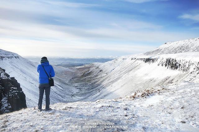 High Cup Nick Walk, Cumbria, Dufton, Snow, View, Photo,  lake District