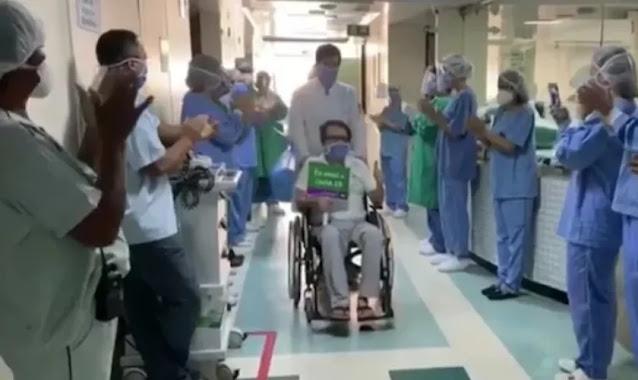 Após 38 dias internado, médico reconhece poder da oração em sua cura de Covid-19