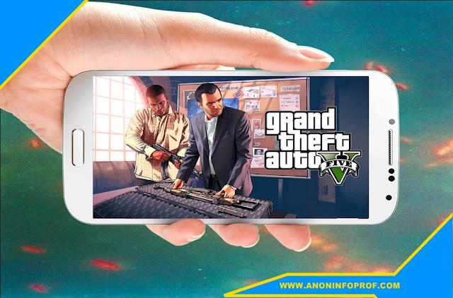 تحميل وتشغيل لعبة gta v على أجهزة الأندرويد مجانا
