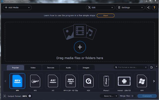 Screenshot Movavi Video Converter Premium 20.1.2 Full Version
