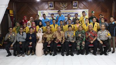 Kapolres Solok Kota AKBP Ferry Suwandi  Jalin  Silaturahmi Bersama Pemuda, Alumni Dan Mahasiswa Se-Kota Solok