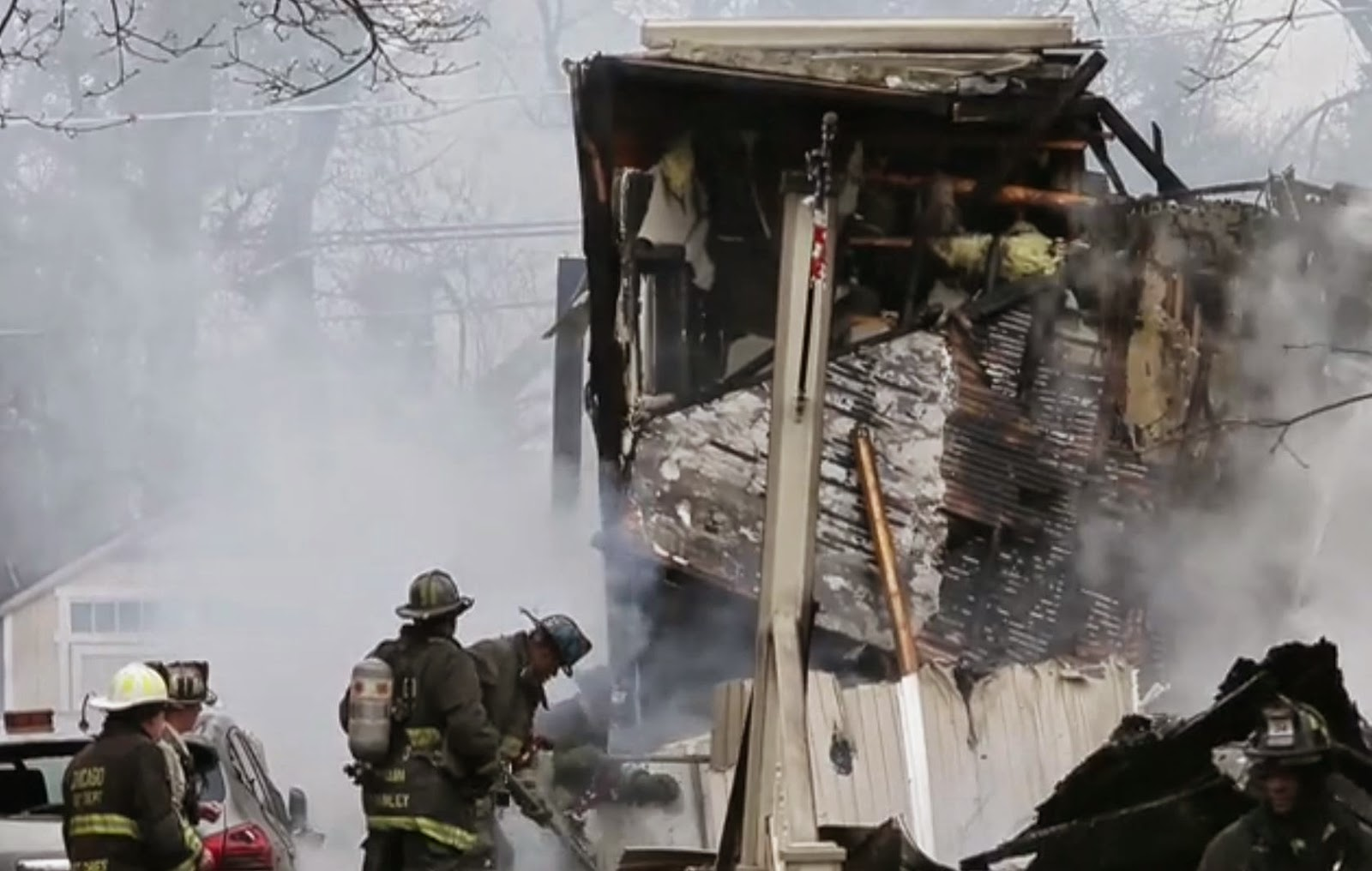 THE UNSAFE GAS ANOTHER NATURAL GAS EXPLOSION DESTROYS