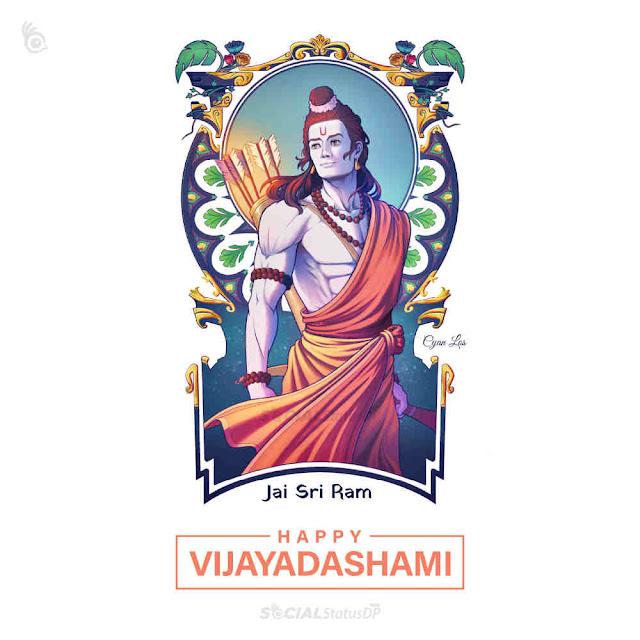 Happy Vijayadashami Lord Ram Image Wishes