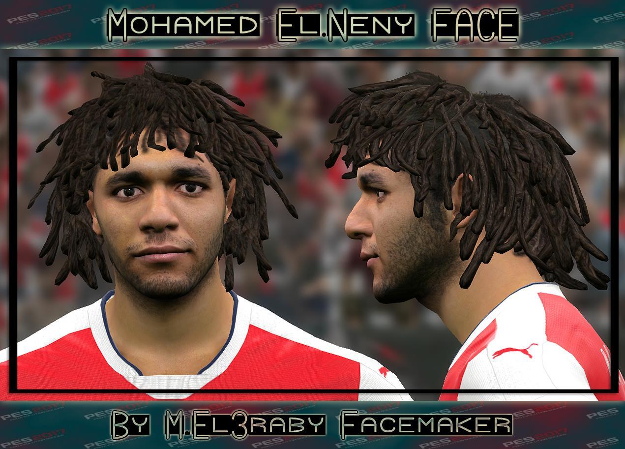 PES 2017 Mohamed El-Neny face