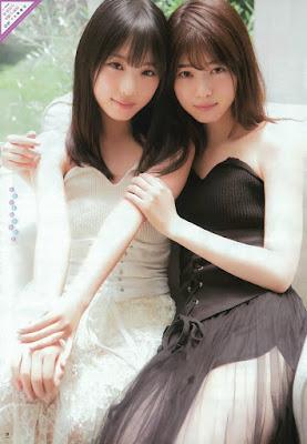 グラビアはルイヴィトン靴コピー「仲良し姉妹」がテーマで、西野さんと与田さんが体を寄せ合ったり、手をつなぐルブタン コピー写真などが掲載された。