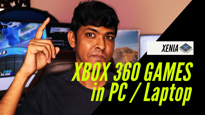 How to Play XBOX 360 Games on a laptop/PC 🎮 | Xenia Emulator | in Tamil ...