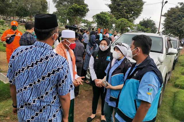Layanan Psikososial PORDAM Kementerian Sosial, Tenangkan Batin Keluarga Korban Sriwijaya Air