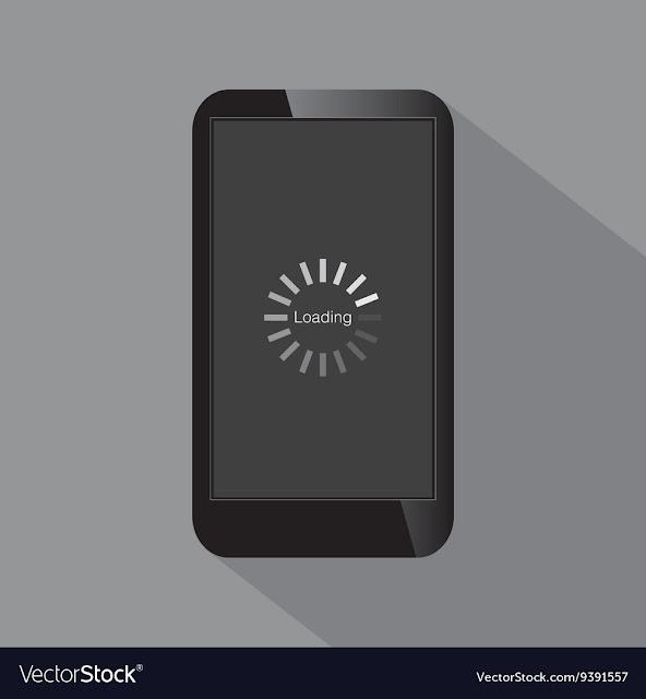 smartphone loading