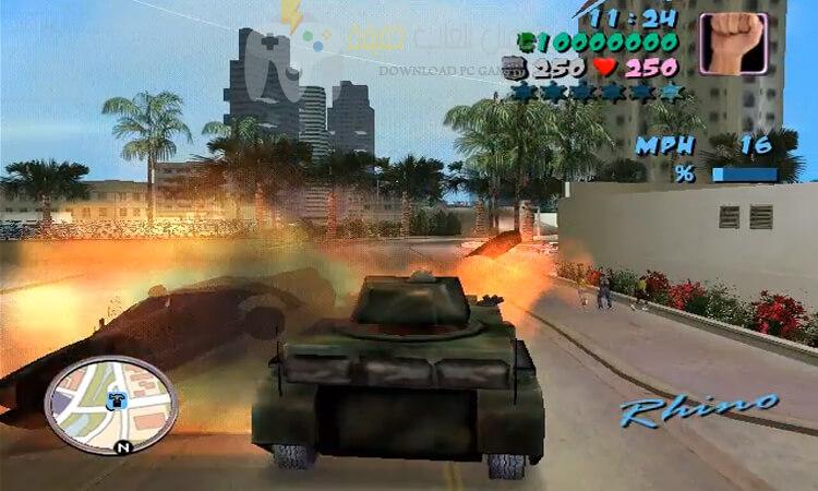 تحميل لعبة جاتا GTA 8 مجانا من ميديا فاير