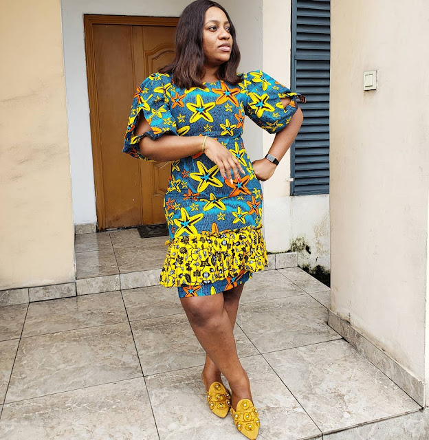 2019 Latest and Unique Ankara Gown Styles