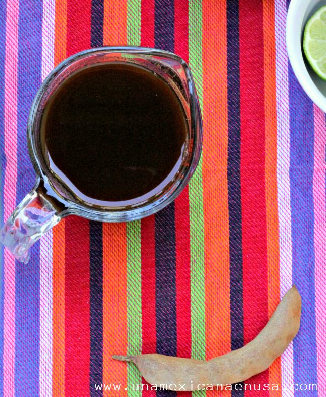 Margaritas de tamarindo by www.unamexicanaenusa.com