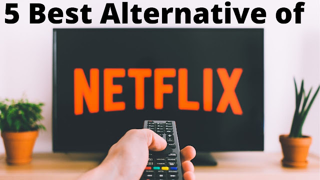 5 Best alternative of Netflix