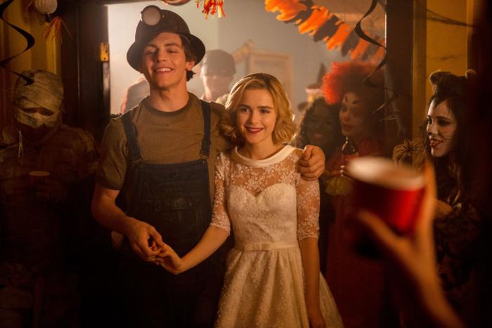 Sabrina y Harvey